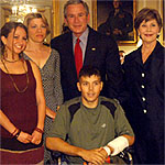 Dylan and President Bush
