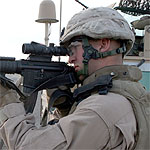 CLB2 in Iraq March, 2007, USMC Marine Corps Photo