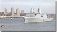 USS New York Brought to Life