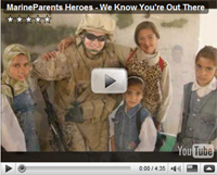 Marine Parents Heroes Video