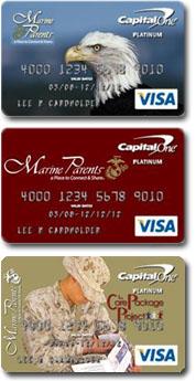 Marine Parents Credit Cards