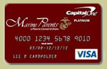 Show Your Support with your Marine Parents Credit Card!