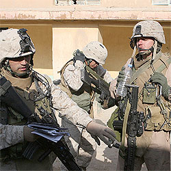 3/4 Marines January 25, 2007 Anbar Provice Iraq