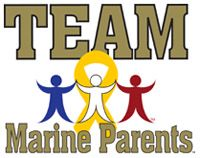 Team Marine Parents Logo
