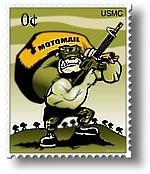 Motomail Electronic Mail for Deployed Marines