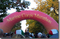 Team Marine Parents at Marine Corps Marathon and 10K