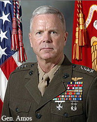 Next Commandant? Marine Aviator Gen. James Amos