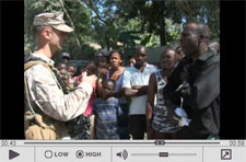Video Footage of Marines in Haiti