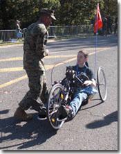 Operation PAL™ Marines at Marine Corps Marathon and 10K