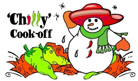 chili snowman