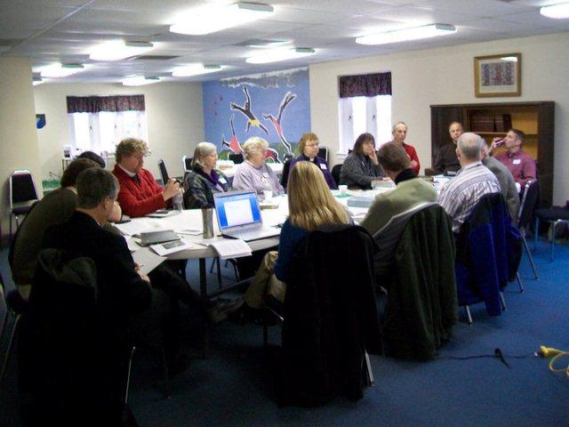 miller leads workshop