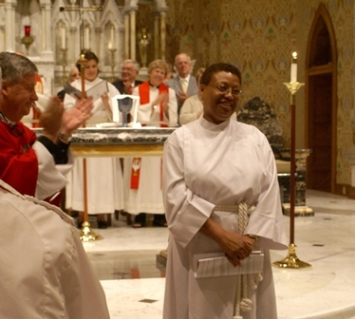 Dr. Phyllis Milton, installed as Director of Christian Formation