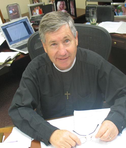 Jim at desk