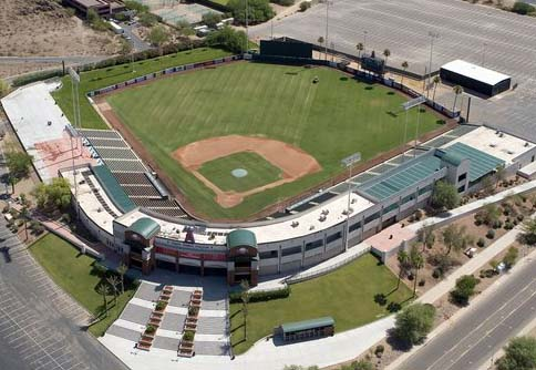 Tempe Spring Training Field