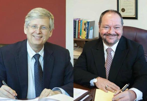 Doug & David desk photo