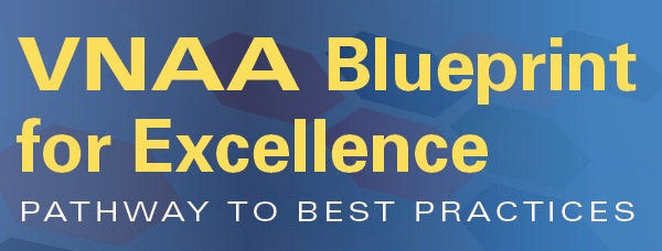 VNAA Blueprint for Excellence logo