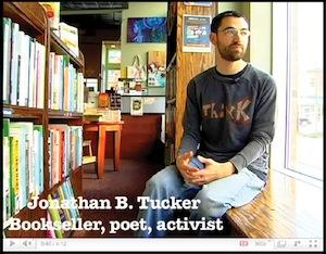Jonathan Tucker at Bookstore