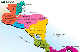 Put Central America on the Map in Schools
