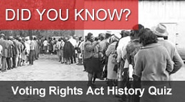Voting Rights Act History Quiz