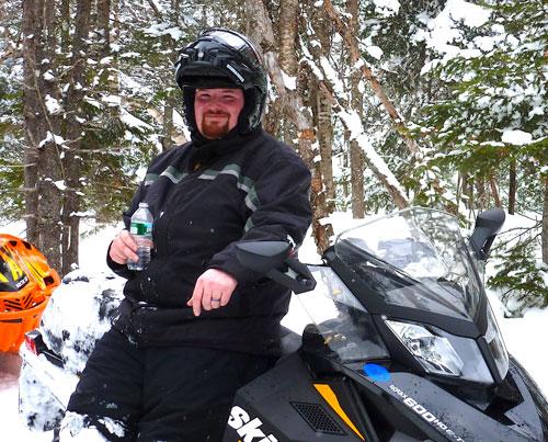 Matt - Snowmobiling