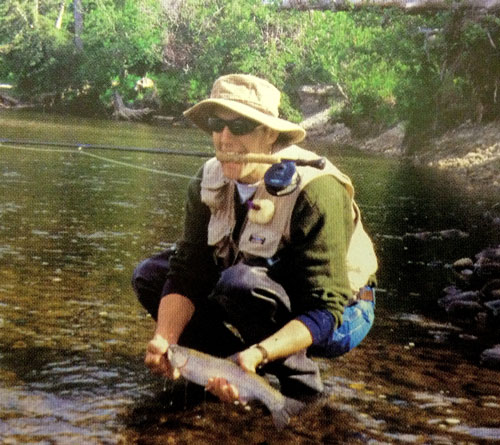 Warren Dyke - Trout Fishing