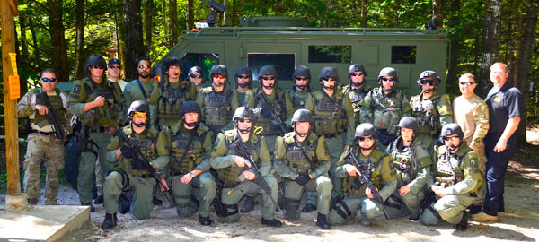 PPD SWAT Team in Fryeburg