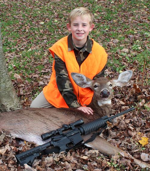 Dawson's 1st Deer