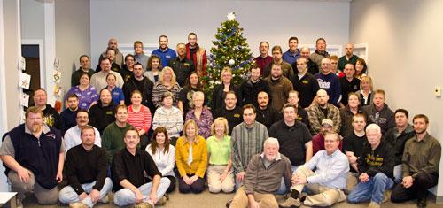 WW Employees XMas Photo