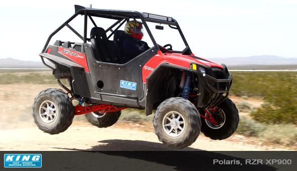 King RZR XP900 Jump 1