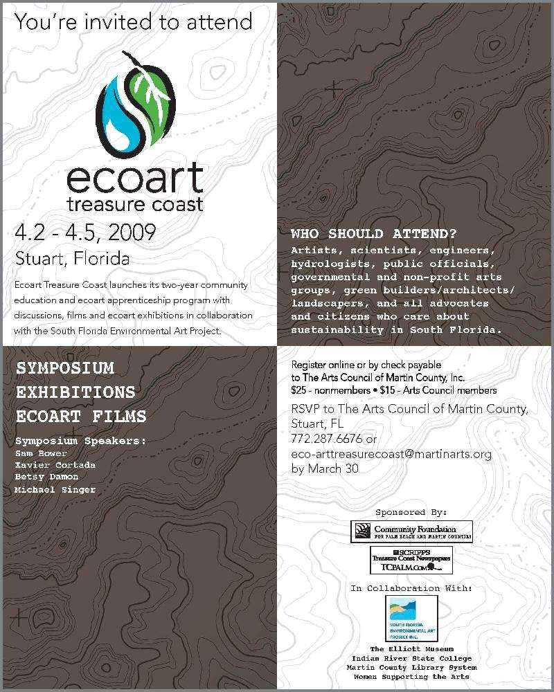 Ecoart Treasure Coast Evite