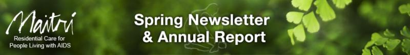 Spring Newsletter and Annual Report
