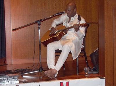 Guitarist Andre Morgan