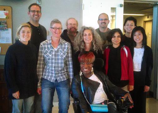 Volunteer Training Group in October 2015