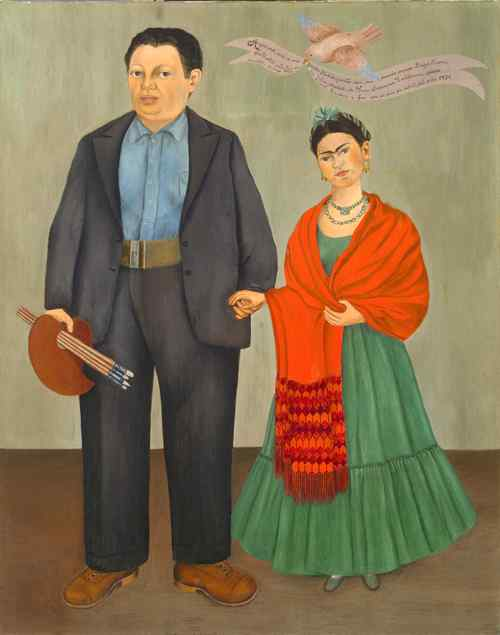 Kahlo and Diego