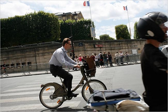 bicycles of Paris