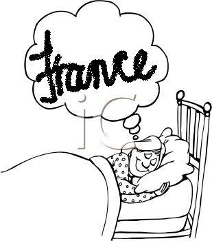 Cartoon Dream of France