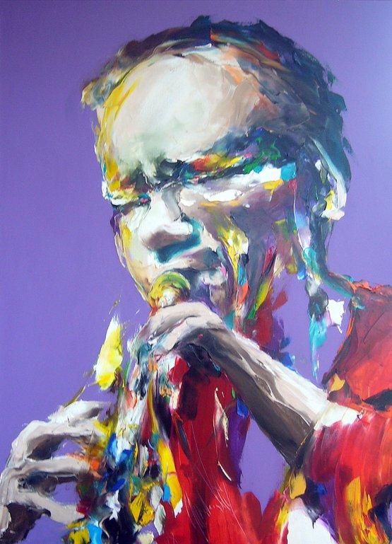 Vey Jass trumpet player