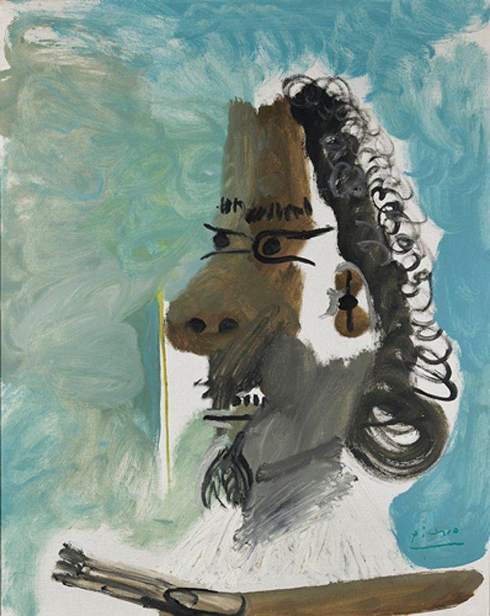 Picasso, Le peintre, 1967