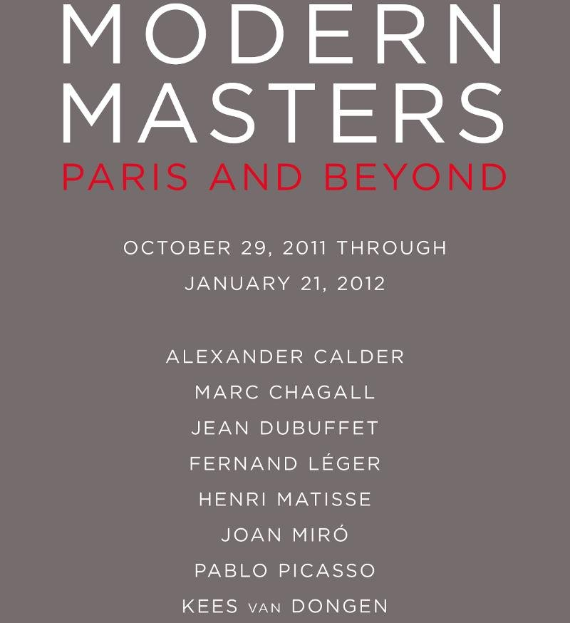 Hammer Galleries - Modern Masters - Paris and Beyond