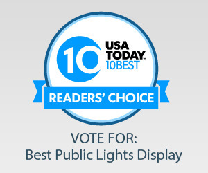 Vote to Make Nights of Lights the #1 Public Light Display in the Country! 1 739 St. Francis Inn St. Augustine Bed and Breakfast