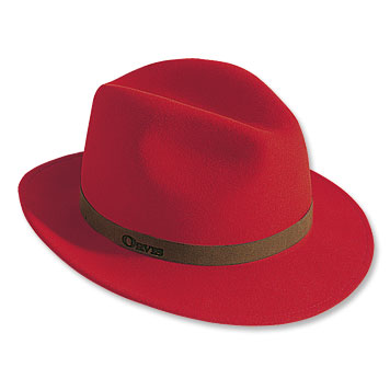 Red Santa Fedora now available from Orvis 168699bb742