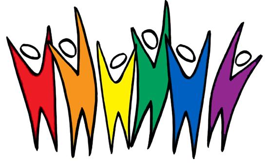Diversity Rainbow People