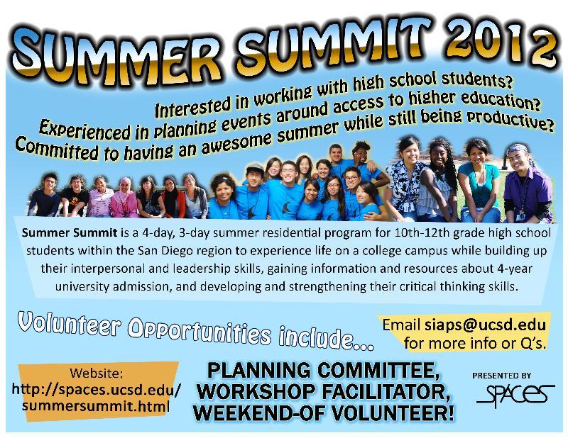 spaces summer summit 2012