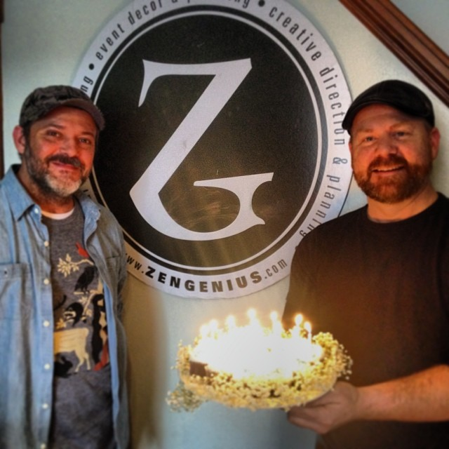 #Zengenius is officially 15 years old! Special thanks to Joe & Paul for ma