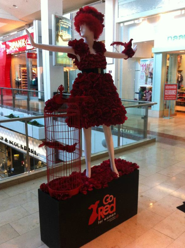 Westfield Mall: Go Red for Women 1