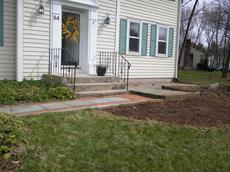 front walkway before photo
