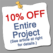 10% off entire project