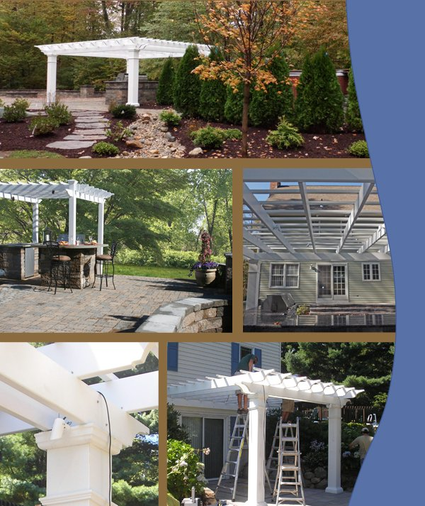Photos of pergolas installed by Bahler Brothers