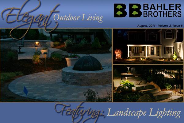 Photos of landscape lighting