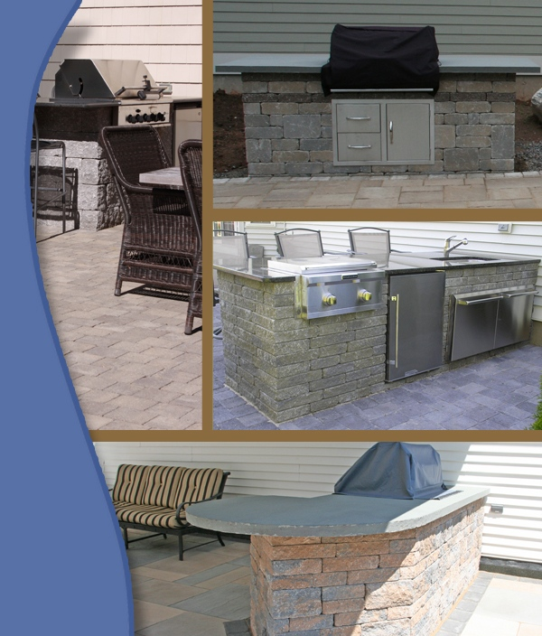 Collage of projects installed by Bahler Brothers